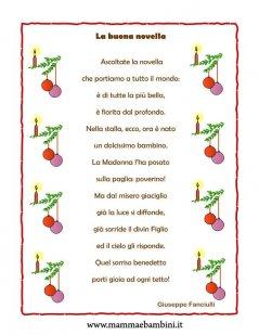 Poesie Di Natale Per Bambini Asilo.Tante Poesie Di Natale Da Stampare Con Cornice Mamma E Bambini