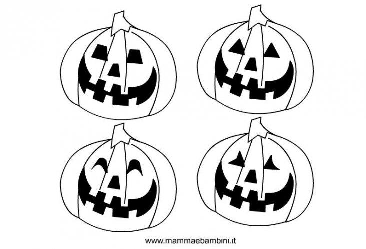 4ebc84abca Halloween, disegni zucche da colorare - Mamma e Bambini