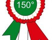 Coccarda tricolore per i 150 Anni Unità d'Italia