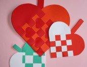 Lavoretti: cuore a canestro