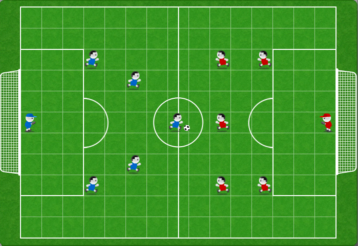 Ggoal il gioco del calcio online mamma e bambini for Calciatori da colorare per bambini