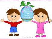 Buona Pasqua Maestra: disegno da stampare