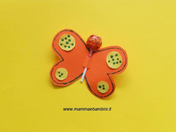 Lavoretti per bambini: la farfalla