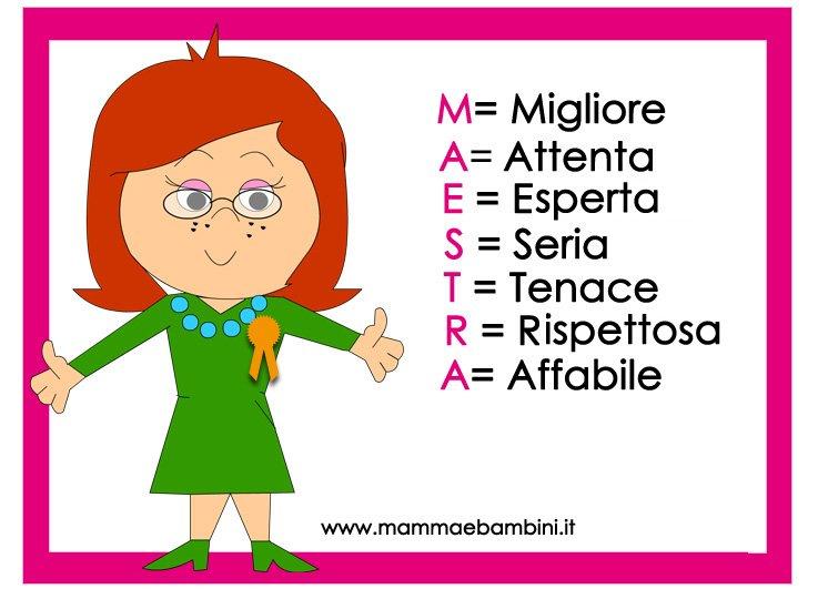 Biglietti Da Stampare Con Frasi Per Fine Anno Scolastico Mamma E