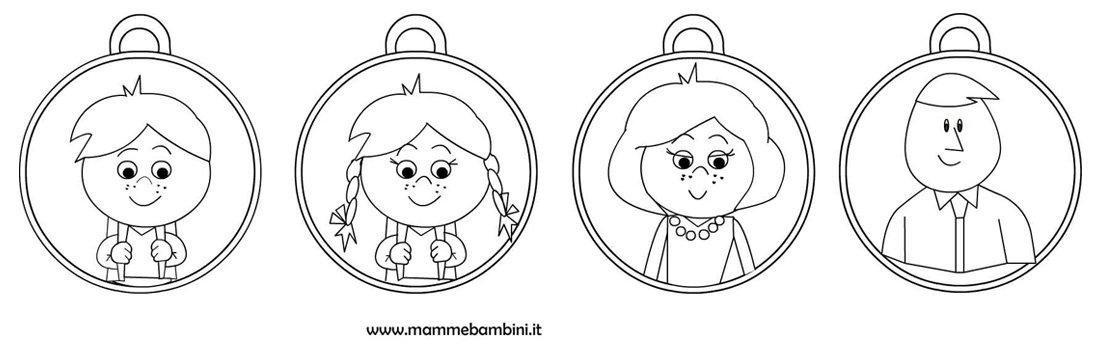 Nuove Medaglie Da Stampare E Colorare Mamma E Bambini
