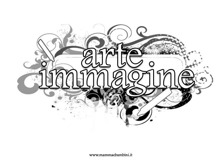 Copertina quadernone per scuola media: arte e immagine