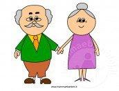 Festa dei nonni: un bel disegno da stampare