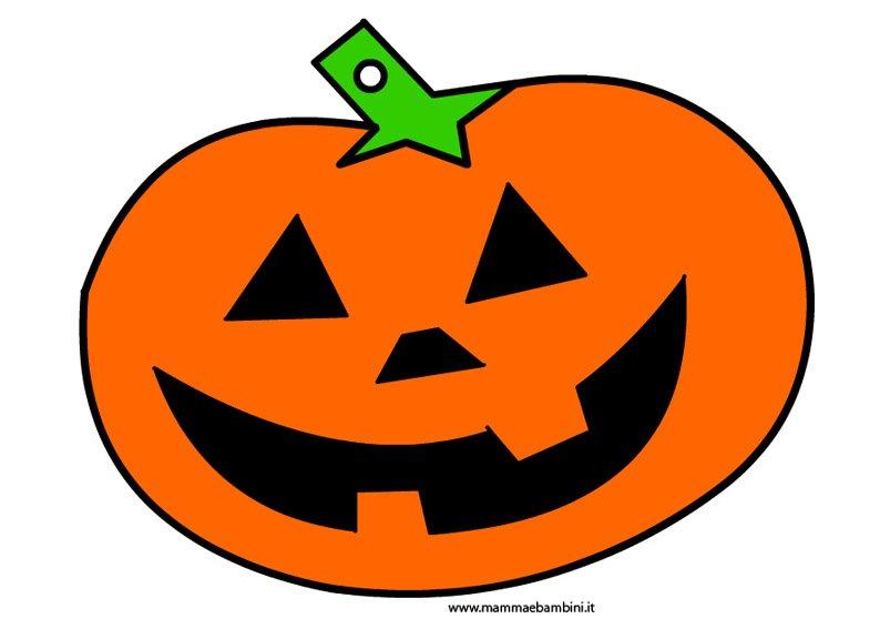 Immagine zucca Halloween da stampare