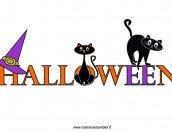 Scritta Halloween da stampare