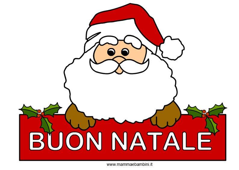 Immagini Di Natale Da Stampare Gia Colorate.Immagini Di Babbo Natale Gia Colorate Disegni Di Natale 2019