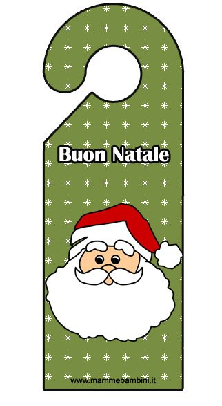 Cartellino porta come idea regalo per Natale