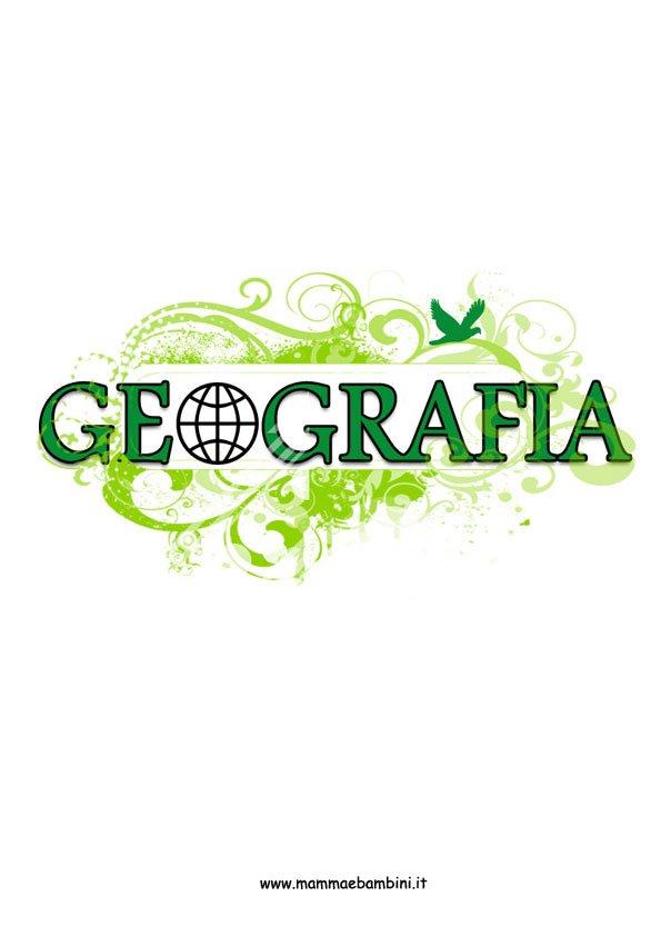 copertina geografia verde