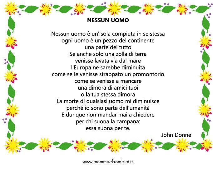 Poesia Nessun Uomo