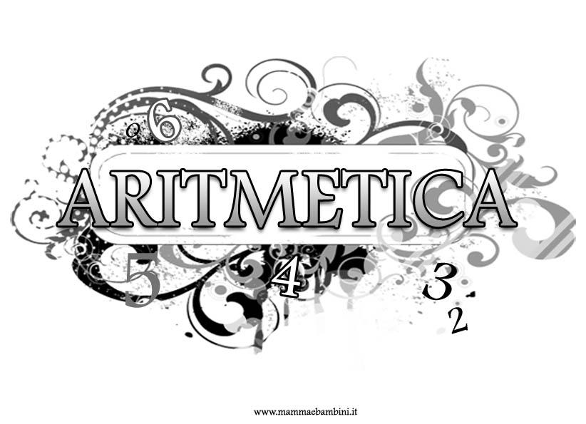 Nuova copertina quaderno aritmetica