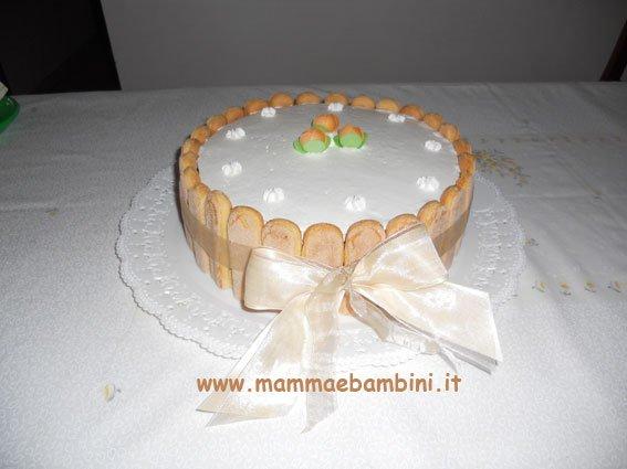 torta con savoiardi