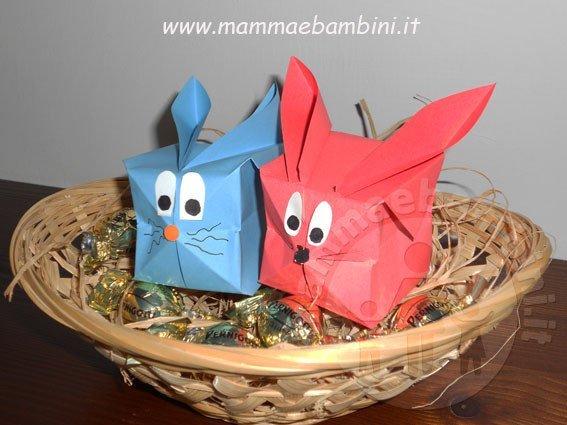 origami coniglio