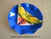 Piegare un tovagliolo a farfalla