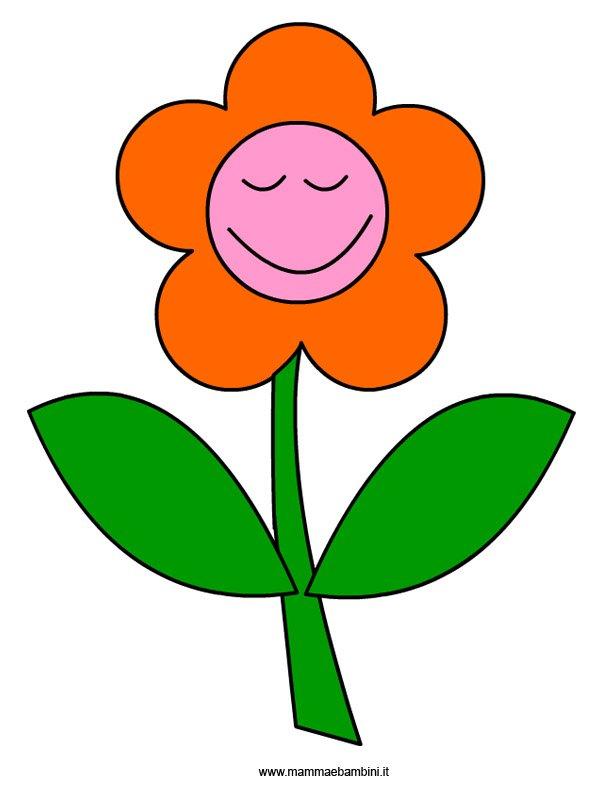 Sagome per realizzare un tulipano mamma e bambini for Fiori da disegnare facili