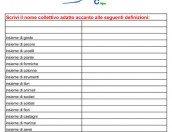 Nuovo esercizio grammaticale sui nomi collettivi