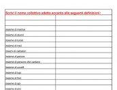 Grammatica: nomi collettivi e nomi individuali
