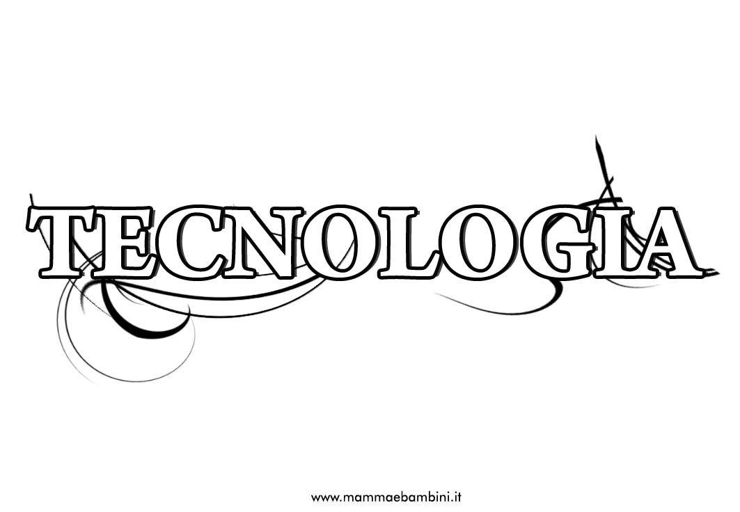 Copertine da stampare: materia TECNOLOGIA