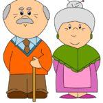 Festa dei nonni: disegno da stampare