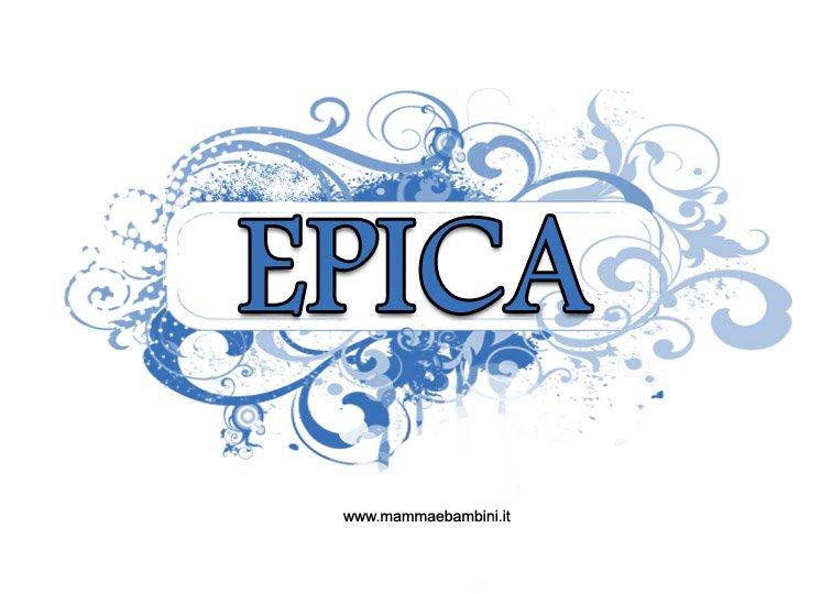 Copertina di Epica per quaderni