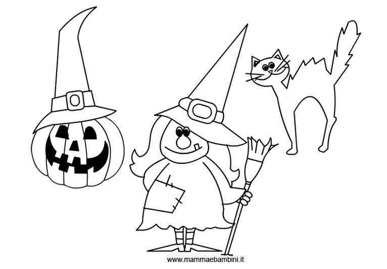Halloween: disegni da colorare