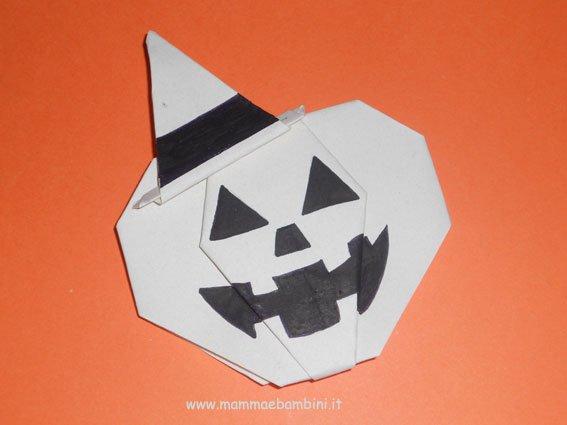Lavoretto per Halloween: la  zucca