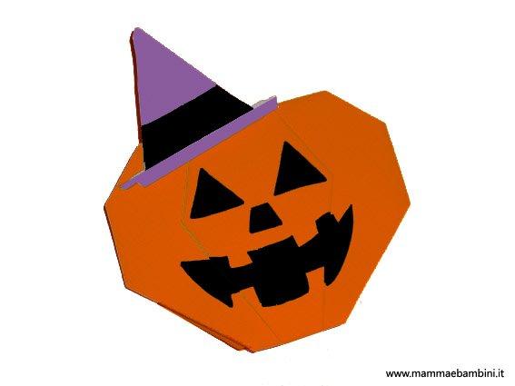Halloween: la zucca con il cappello