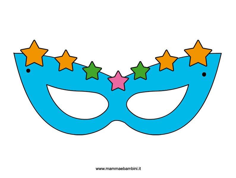 maschera-stelle da stampare