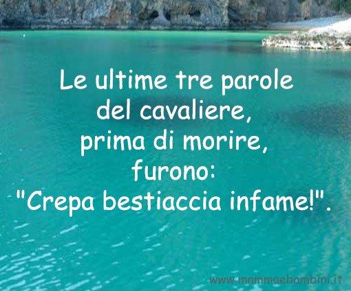 Racconto Tre parole di Bruno Ferrero