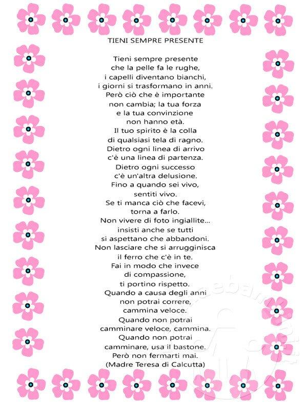 Poesie Sul Natale Di Madre Teresa Di Calcutta.Preghiera Di Madre Teresa Tieni Sempre Presente Mamma E Bambini