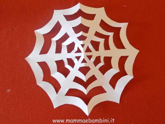 Decorazioni per Halloween: la ragnatela