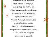 Per Natale: una poesia in cornice per i bambini