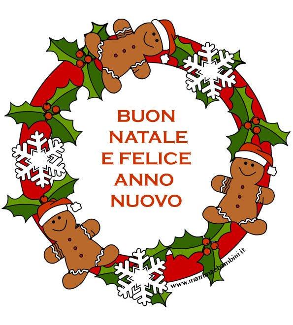 Cartoline Buon Natale E Felice Anno Nuovo.Biglietti Di Buone Feste Da Stampare Mamma E Bambini