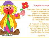 Poesie Carnevale: Il pagliaccio rosso