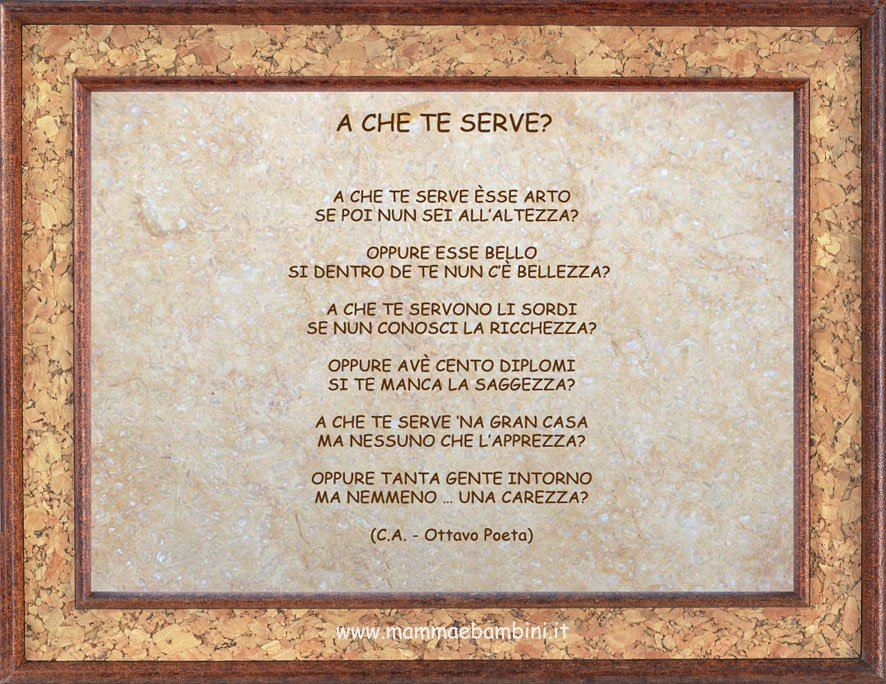 Poesia in dialetto romanesco