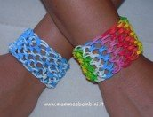 Video come realizzare un bracciale dragonscale