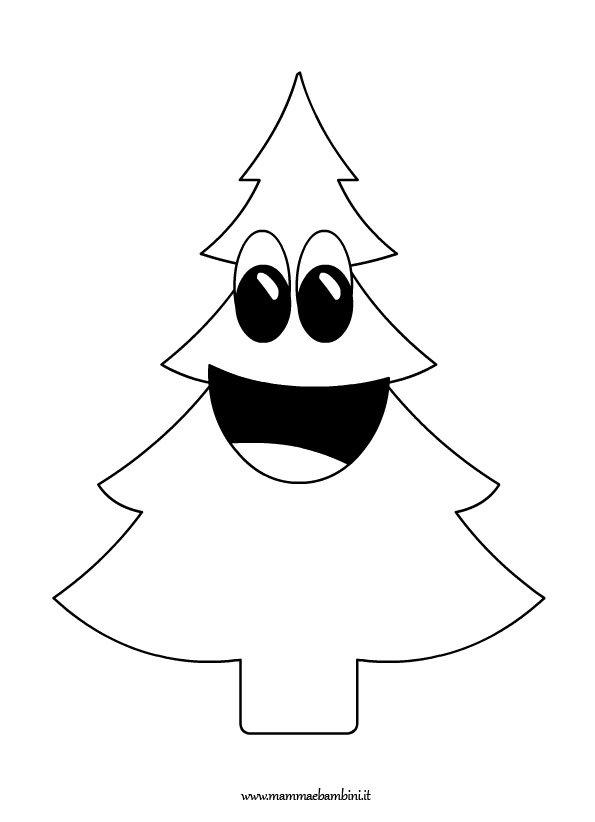 Albero Di Natale Disegno Da Colorare.Disegno Albero Di Natale Da Colorare Mamma E Bambini