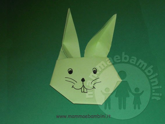Video come realizzare coniglio di carta