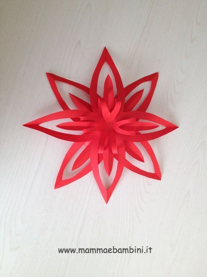 Decorazioni per Natale: la stella