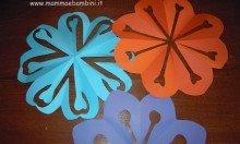 Come realizzare un centrino di carta a fiore