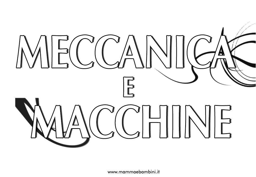 meccanica-macchine