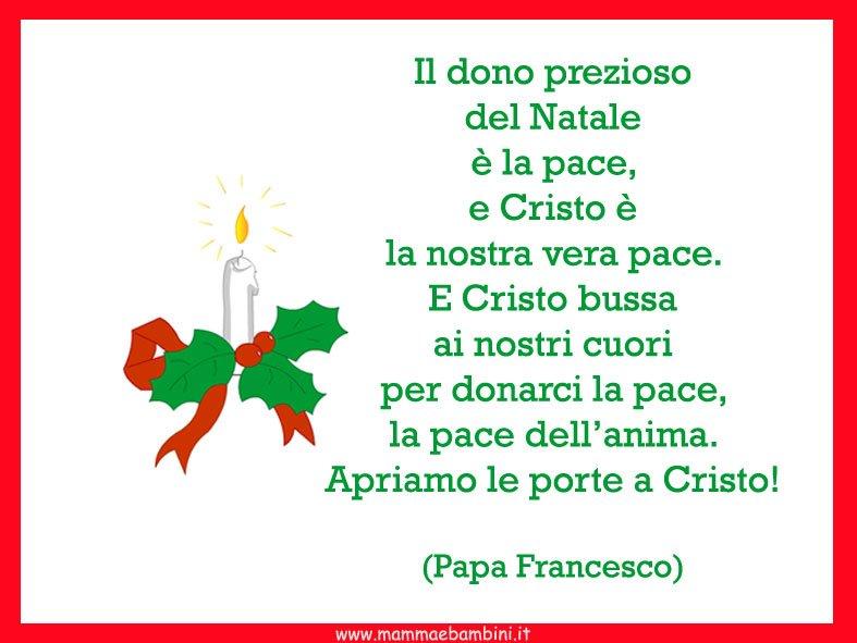 Papa Francesco Frasi Sul Natale.Le Frasi Piu Belle Mamma E Bambini