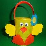 Tante idee per realizzare cestini di Pasqua
