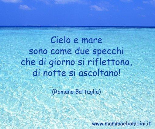 Frase Sul Mare E Cielo 14 Marzo 2016 Mamma E Bambini
