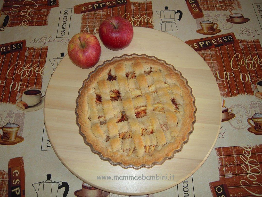 ricetta crostata mele facile 03