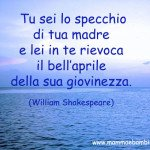 Frase sulla mamma di William Shakespeare