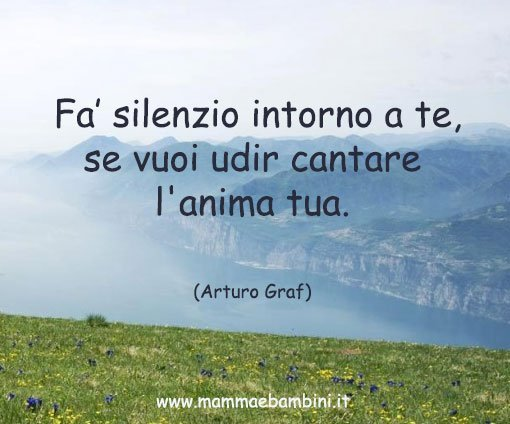 Frase sul silenzio